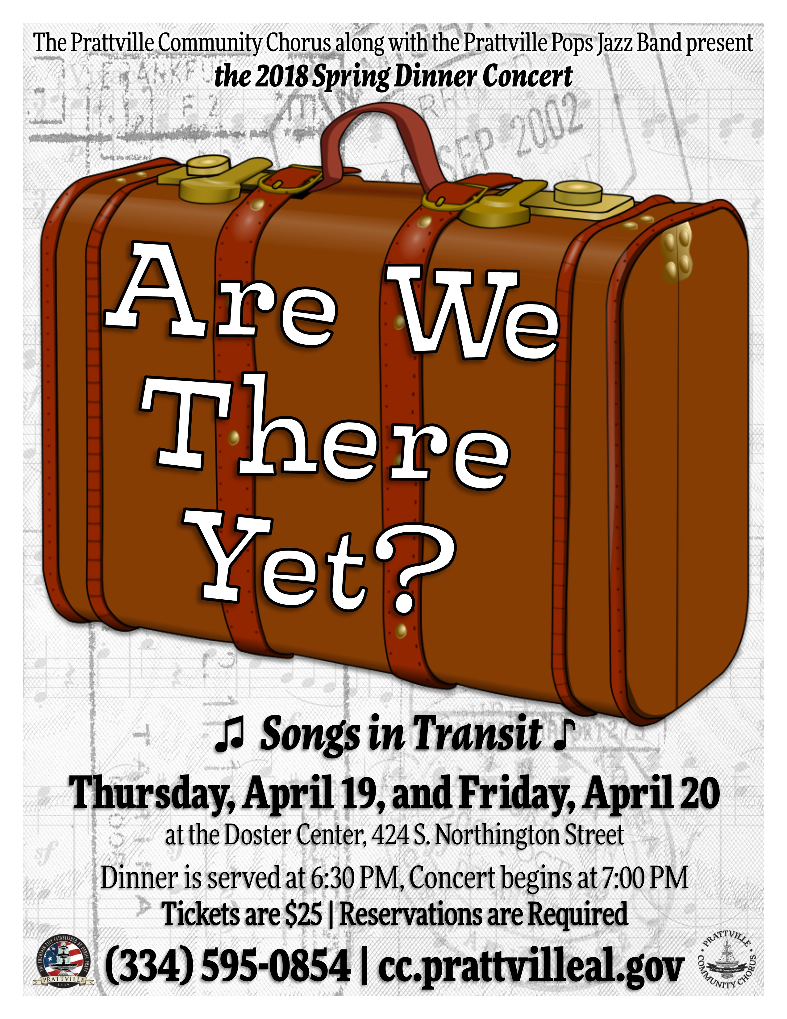 Are We There Yet Flyer