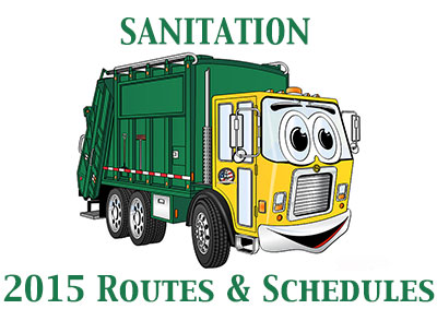 2015ScheduleChanges-GarbageTruck