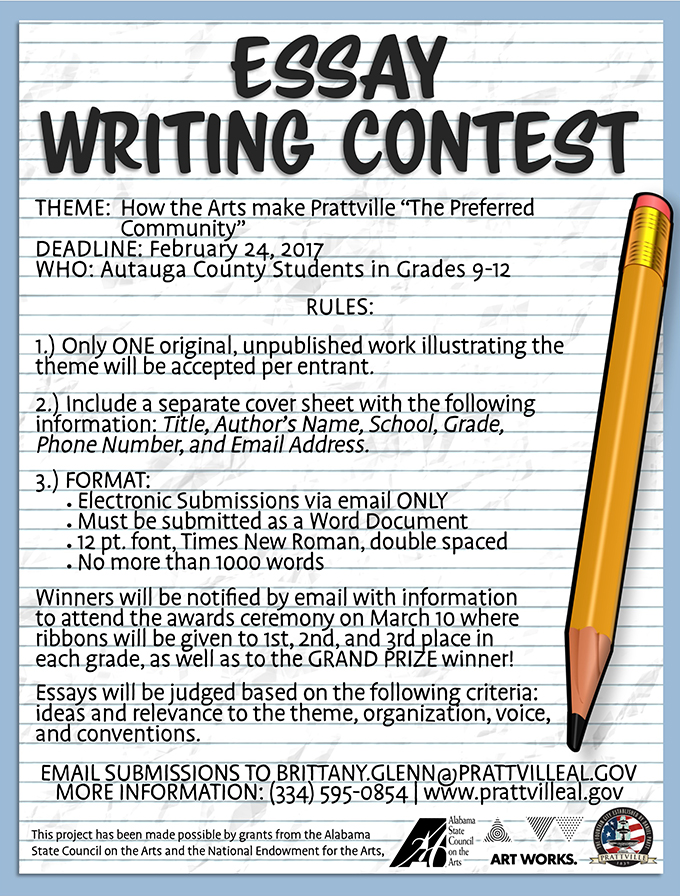 Do the write thing essay contest 2009