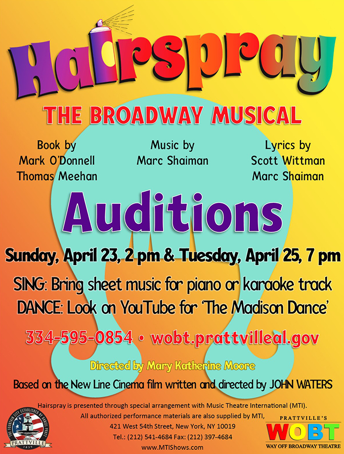 2017HairsprayAuditions