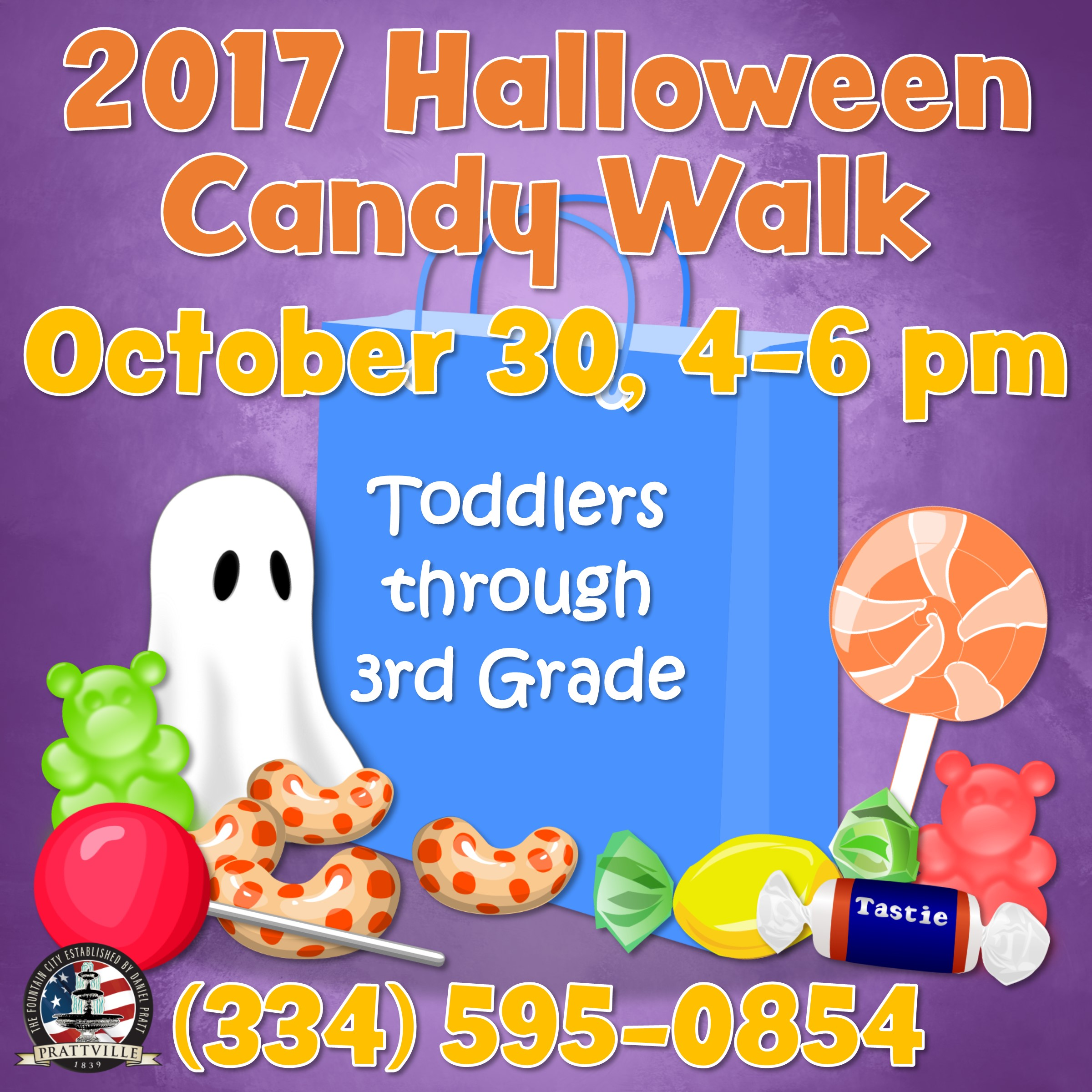 Candy Walk Square Billboard